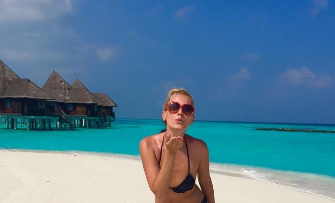 Gabriela Simion Sexy Maldives