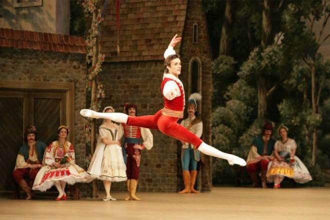 Gabriela Simion Spectacol la Teatrul Balshoi