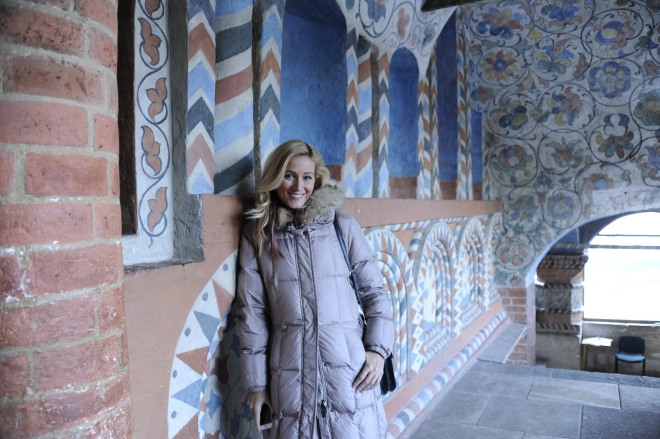 Zambete Calde Gabriela Simion Vacanta la Moscova