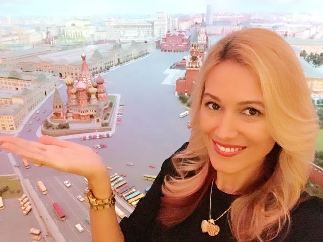 Vedere de Sus Gabriela Simion Vacanta la Moscova