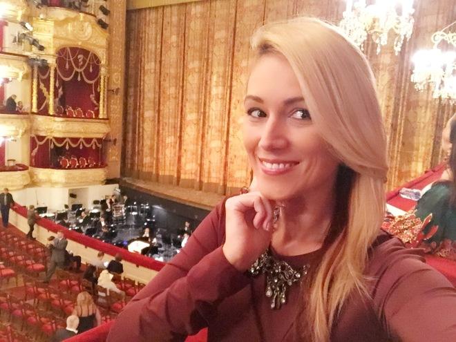 Gabriela Simion la Teatrul Balshoi din Moscova