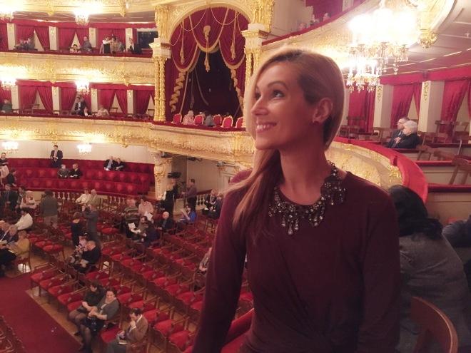 Gabriela la Bolshoi