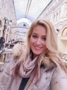Moscova Gabriela Simion in Rusia