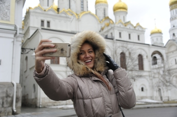 Selfie de Excursie la Moscova Gabriela Simion