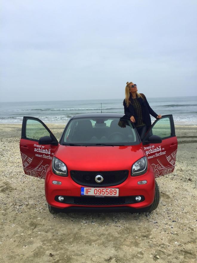 Gabriela Simion Smart Forfour Vacanta la Volan