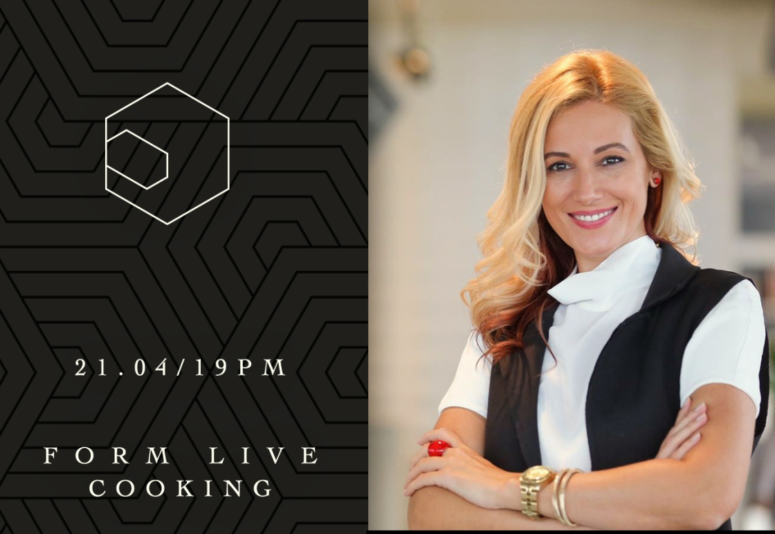 Gabriela Simion Live Cooking Show