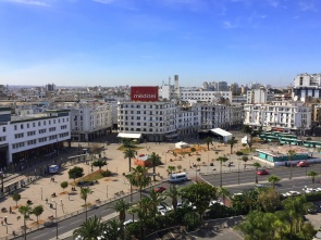 Gabriela Simion Vacanta in Maroc Vedere Hotel