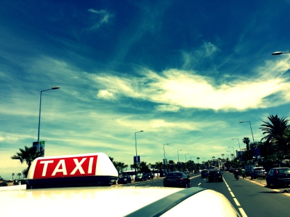 Gabriela Simion Vacanta in Maroc Taxi