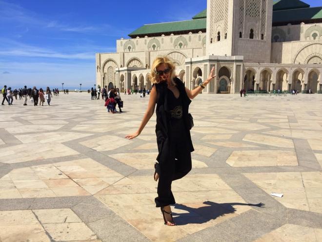 Cu Gabriela Simion in Maroc Casablanca