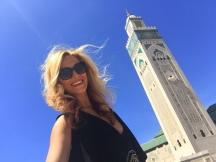 Gabriela Simion in Maroc Casablanca