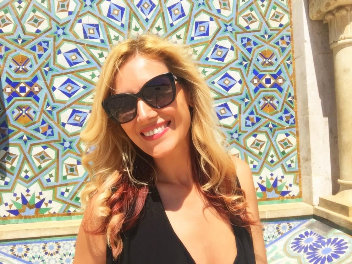 Cute Gabriela Simion Vacanta Maroc Casablanca