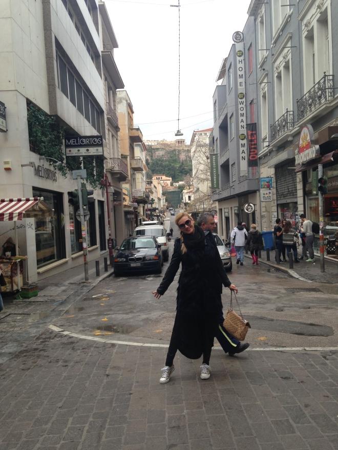 Gabriela Simion Vacanta in Atena Vara