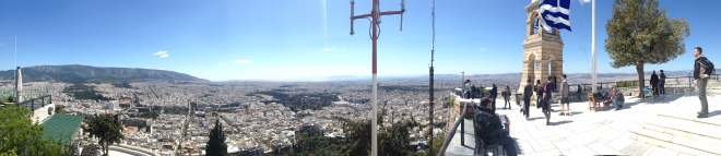 Gabriela Simion Vacanta in Atena Panorama