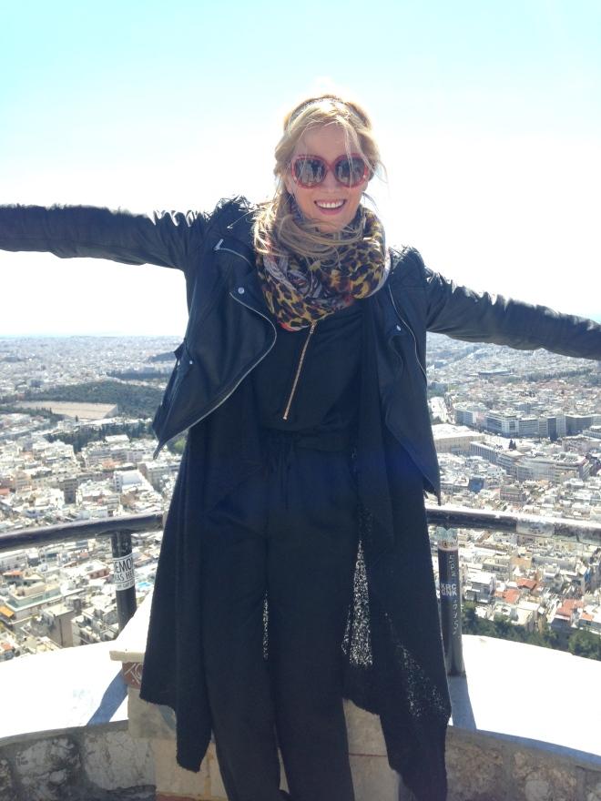 Gabriela Simion Vacanta in Atena 2017
