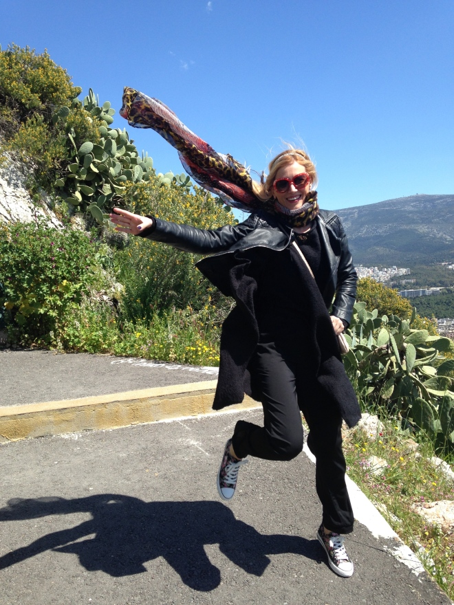Gabriela Simion Vacanta in Atena Din Saritura