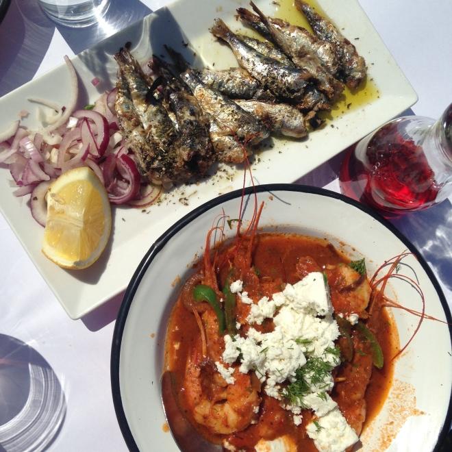 Mancare de Sezon Gabriela Simion Vacanta in Atena
