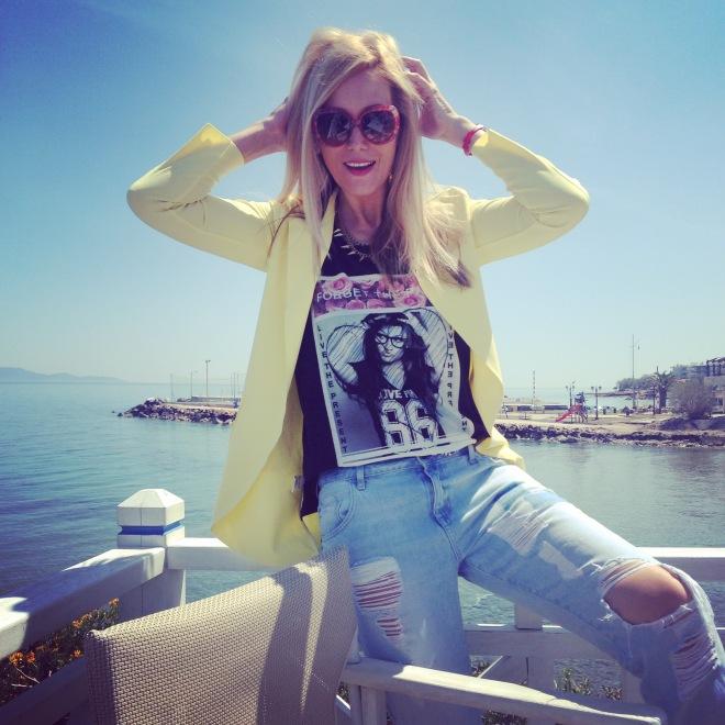 Sexy Gabriela Simion Vacanta in Atena