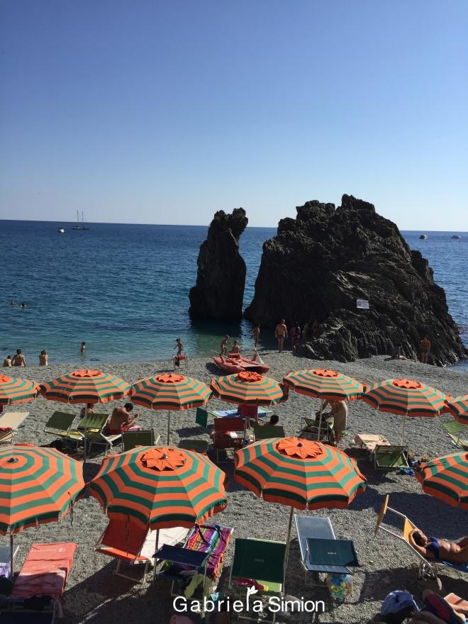 Plaja cu Umbrelute Cinque Terre