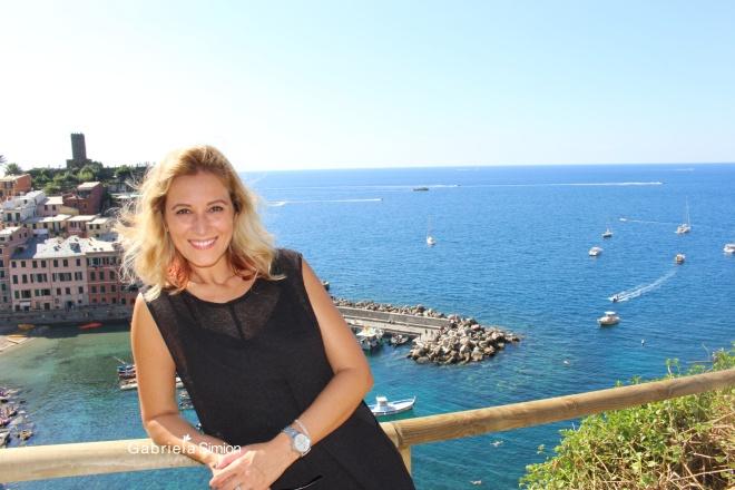 Gabriela Simion Va Pupa din Cinque Terre