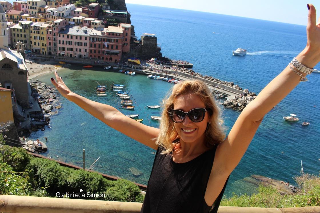 Poze Gabriela Simion Cinque Terre Italia