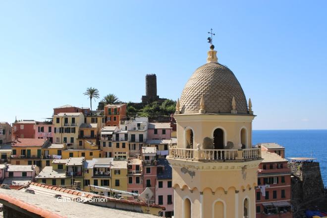 Case Colorate Cinque Terre Italia