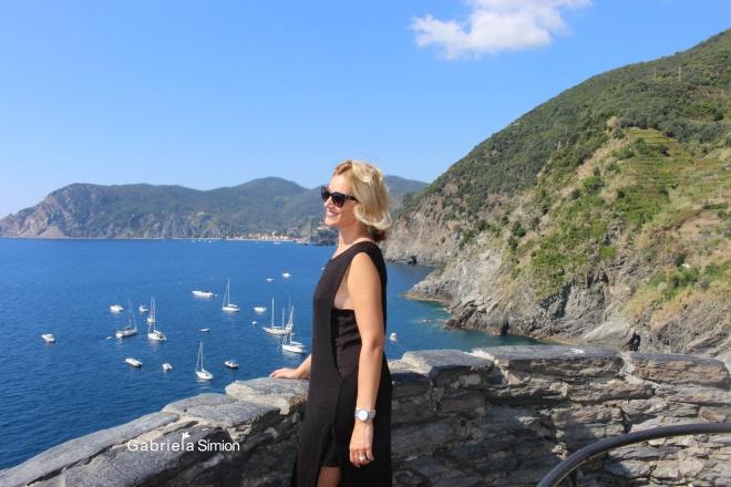 Gabriela Simion Cinque Terre