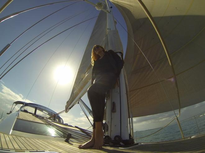 Gabriela Simion Pe Yacht