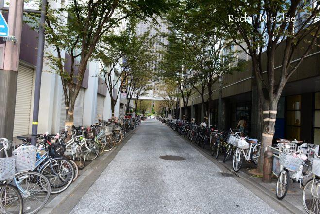 Parcari de Biciclete Tokyo Japonia