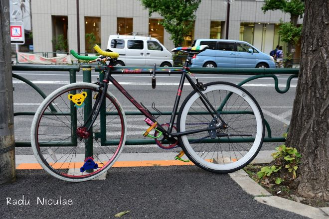 Biciclete Colorate in Tokyo
