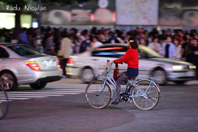 Vacanta pe biciclta in Tokyo