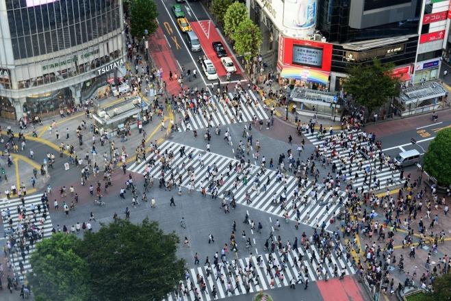 Vedere Shibuya Tokyo De Sus