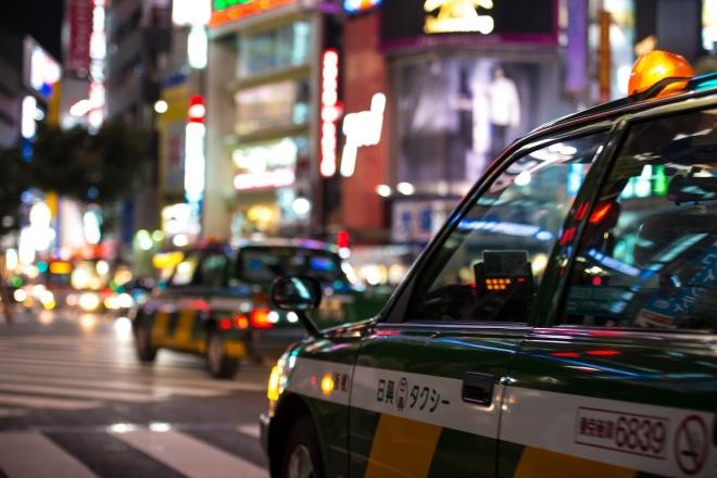Taxi Shibuya Tokyo