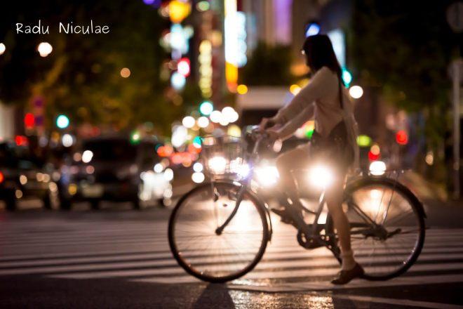 Fotografii Nikon Biciclete in Tokyo Japonia