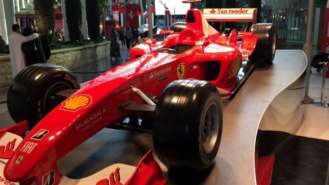 Ferrari Yas Marina Formula 1 Circuit