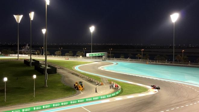 Gabriela Simion Abu Dhabi Circuit F1 Calificari