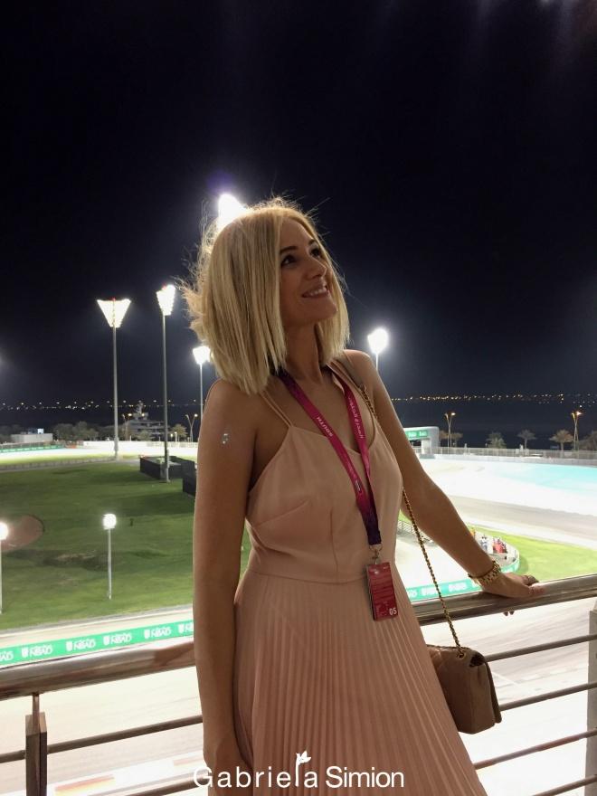 Gabriela Simion Yas Marina Formula 1 Abu Dhabi