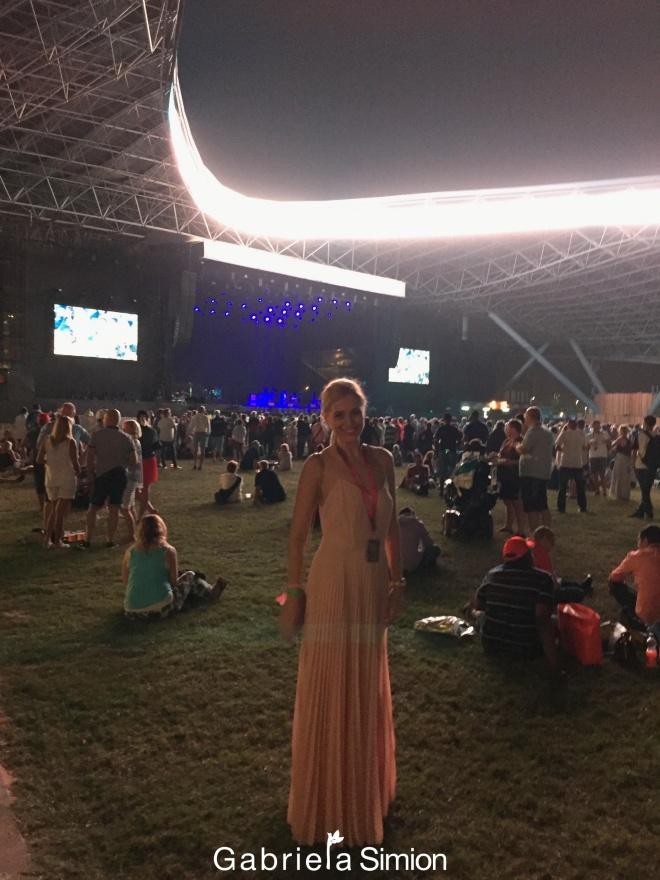 Gabriela Simion Concert Rihanna Abu Dhabi