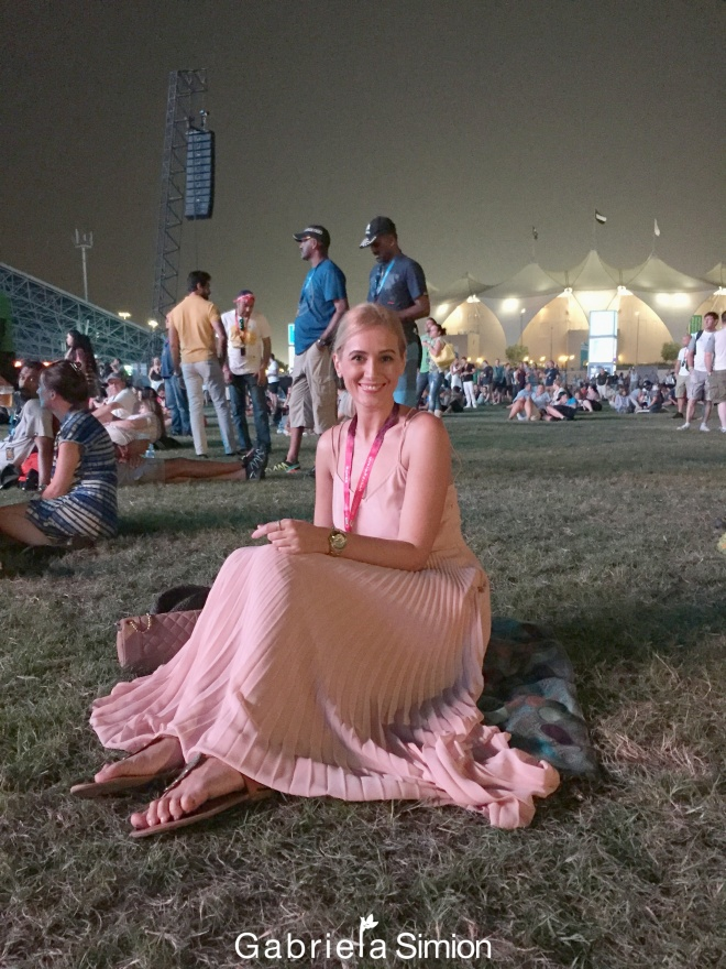 Gabriela Simion Concert de Seara la Abu Dhabi