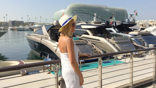 Gabriela Simion Vacanta Abu Dhabi