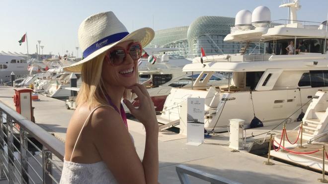 Gabriela Simion Abu Dhabi Vacanta Vesela