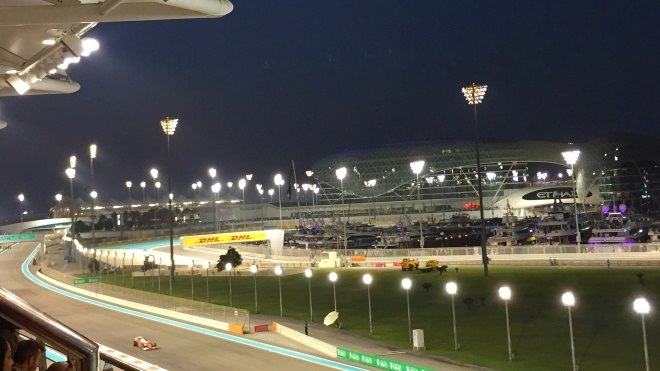 Gabriela Simion Abu Dhabi Circuit F1