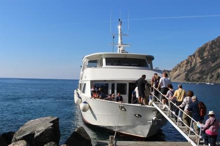 Plimbare cu Barca Gabriela Simion Cinque Terre