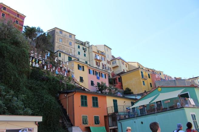 Cladiri Colorate Gabriela Simion Cinque Terre
