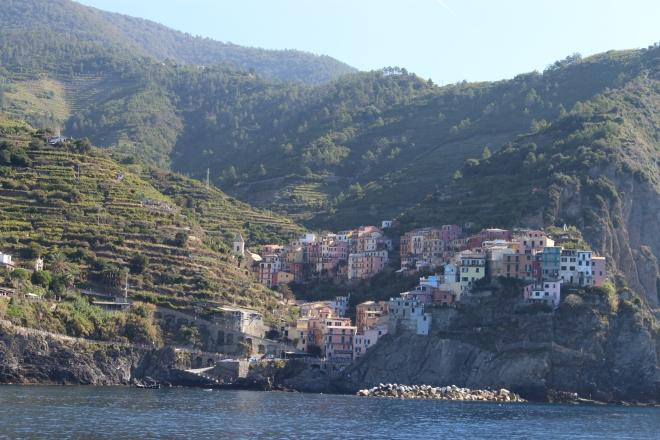 Gabriela Simion Cinque Terre Riviera Pitoreasca