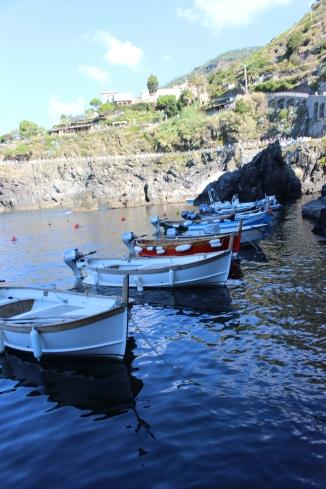 Plimbare cu Barcuta Gabriela Simion Cinque Terre