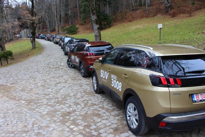 Coloana Peugeot 3008 Crossover Peles Sinaia