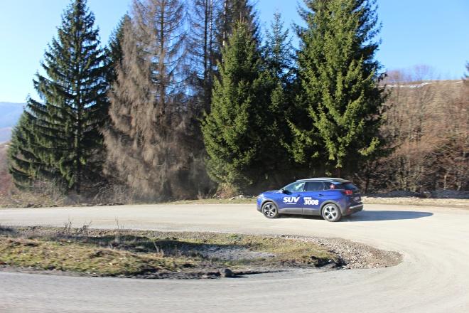 Gabriela Simion Peugeot 3008 in Actiune