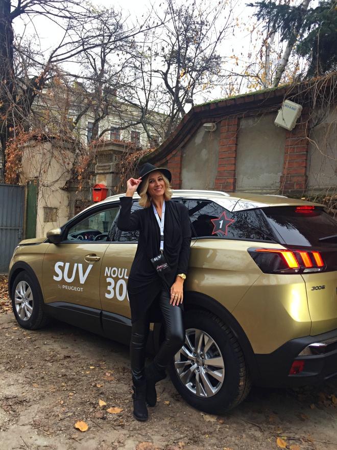 Gabriela Simion Noul SUV Peugeot 3008