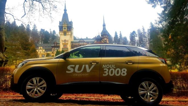 Peugeot 3008 Crossover Romania Peles Sinaia