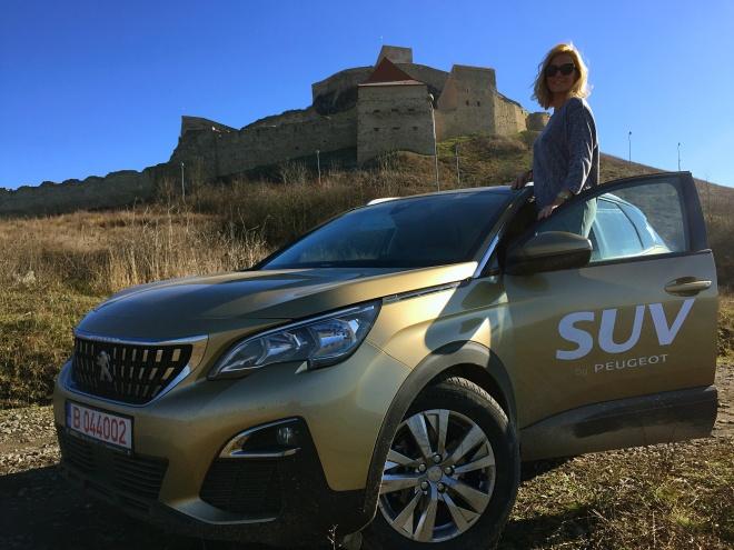 Gabriela Simion Peugeot 3008 2016